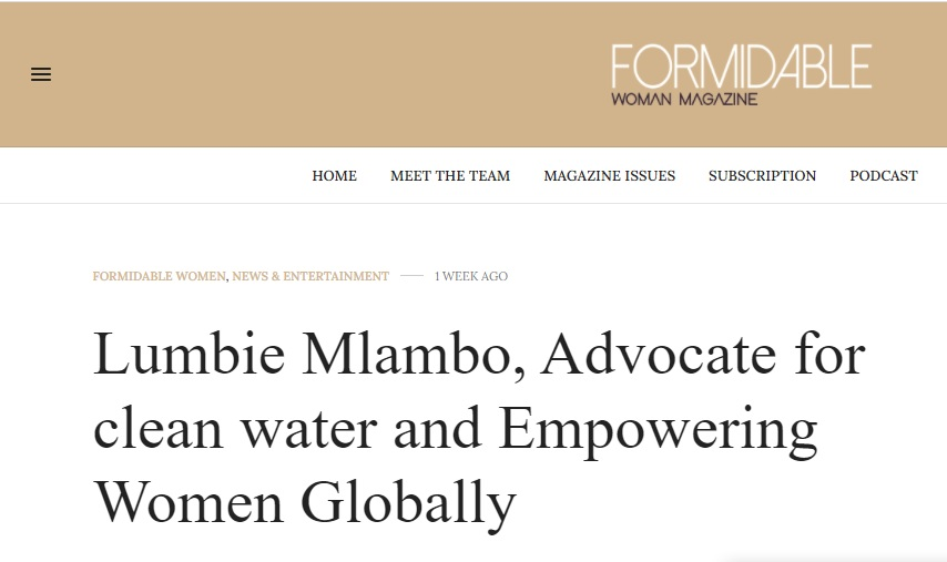 Formidable Woman Magazine